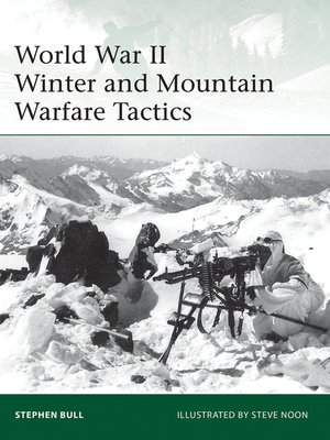 cover image of World War II Winter and Mountain Warfare Tactics