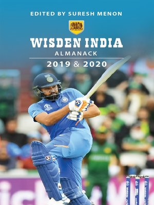cover image of Wisden India Almanack 2019 & 20