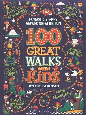 cover image of 100 Great Walks with Kids