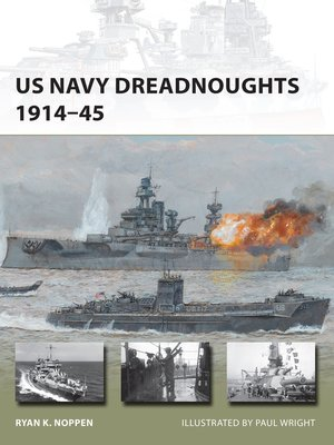 cover image of US Navy Dreadnoughts 1914–45