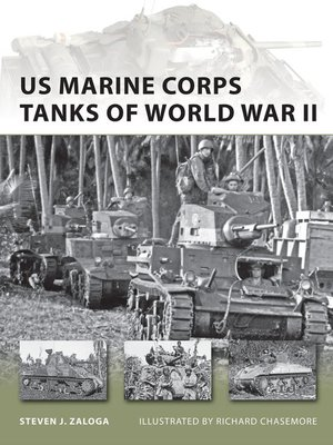cover image of US Marine Corps Tanks of World War II