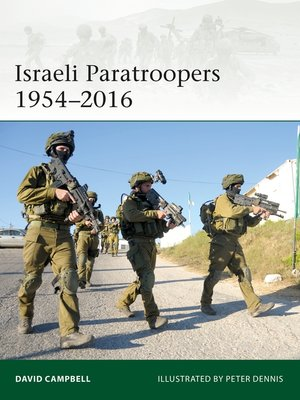 cover image of Israeli Paratroopers 1954–2016
