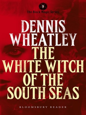 cover image of The White Witch of the South Seas