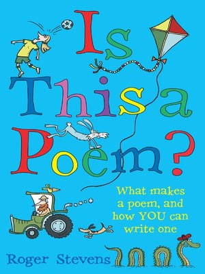 cover image of Is This a Poem?