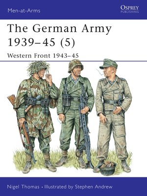 cover image of The German Army 1939–45 (5)