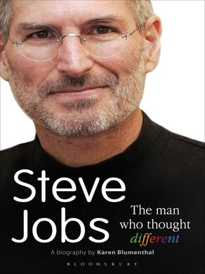cover image of Steve Jobs the Man Who Thought Different