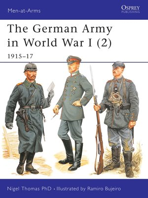 cover image of The German Army in World War I (2)