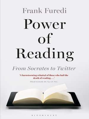 cover image of Power of Reading