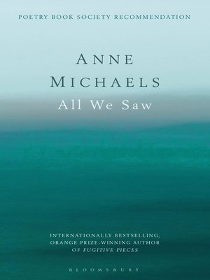 cover image of All We Saw