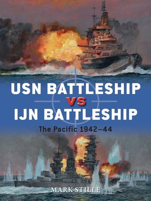 cover image of USN Battleship vs IJN Battleship