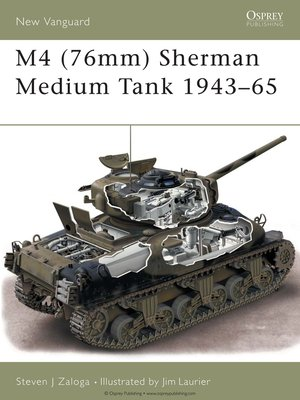 cover image of M4 (76mm) Sherman Medium Tank 1943-65