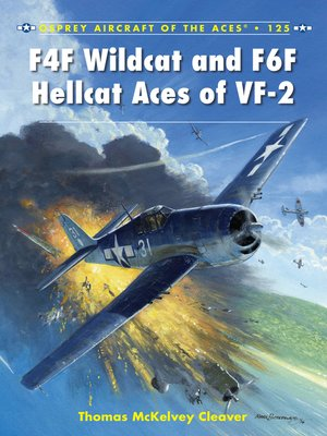 cover image of F4F Wildcat and F6F Hellcat Aces of VF-2