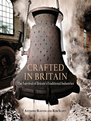 cover image of Crafted in Britain