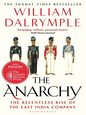 cover image of The Anarchy