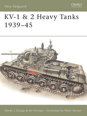 cover image of KV-1 & 2 Heavy Tanks 1939-45