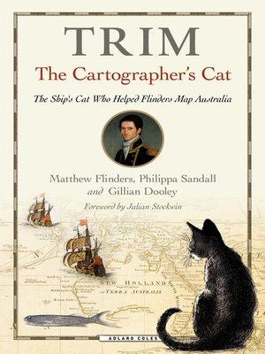 cover image of Trim, the Cartographer's Cat