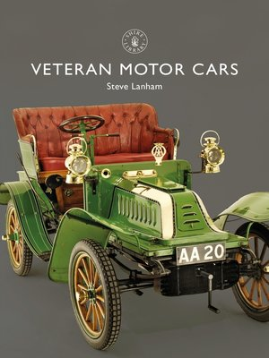 cover image of Veteran Motor Cars