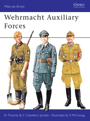 cover image of Wehrmacht Auxiliary Forces