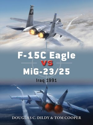 cover image of F-15C Eagle vs MiG-23/25