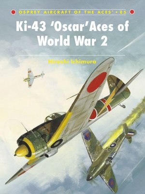 cover image of Ki-43 'Oscar' Aces of World War 2