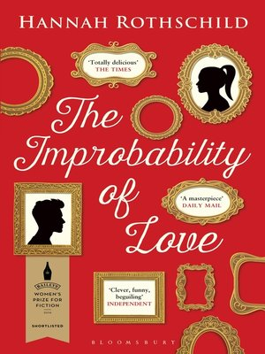 cover image of The Improbability of Love