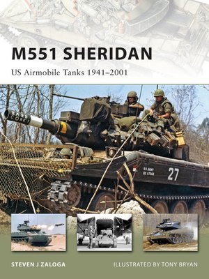 cover image of M551 Sheridan