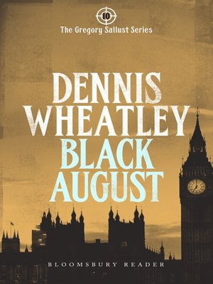 cover image of Black August