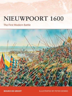 cover image of Nieuwpoort 1600