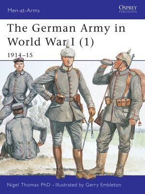 cover image of The German Army in World War I (1)