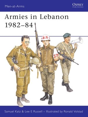 cover image of Armies in Lebanon 1982–84