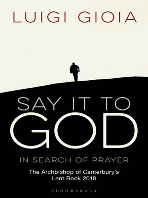cover image of Say it to God