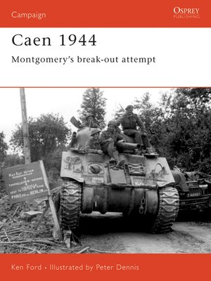 cover image of Caen 1944