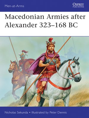cover image of Macedonian Armies after Alexander 323–168 BC