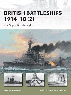 cover image of British Battleships 1914-18 (2)