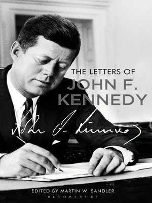 cover image of The Letters of John F. Kennedy