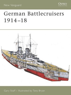 cover image of German Battlecruisers 1914-18