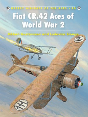 cover image of Fiat CR.42 Aces of World War 2