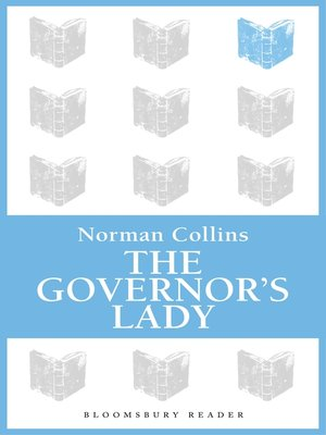 cover image of The Governor's Lady