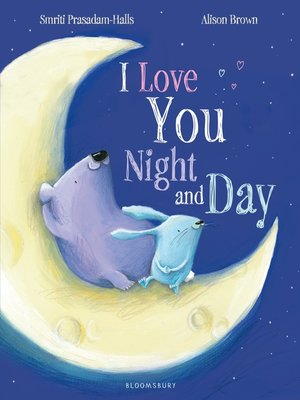 cover image of I Love You Night and Day