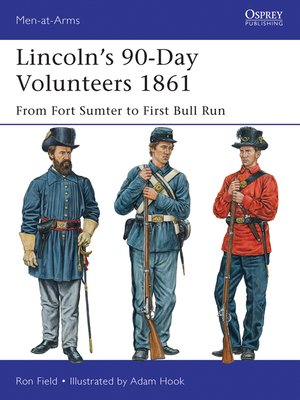 cover image of Lincoln's 90-Day Volunteers 1861