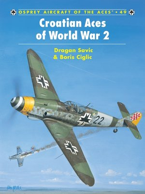 cover image of Croatian Aces of World War 2