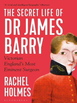cover image of The Secret Life of Dr James Barry