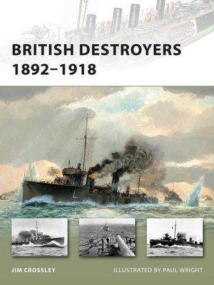 cover image of British Destroyers 1892-1918