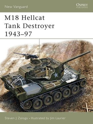 cover image of M18 Hellcat Tank Destroyer 1943-97