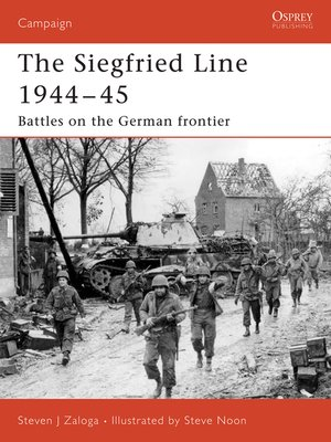 cover image of Siegfried Line 1944-45
