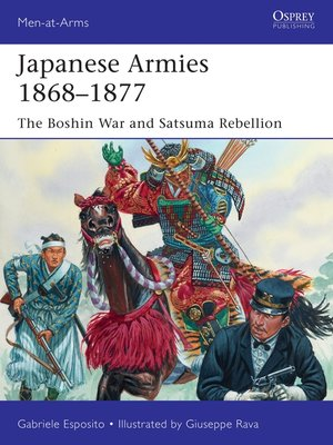 cover image of Japanese Armies 1868–1877