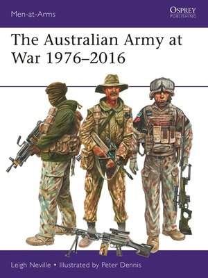cover image of The Australian Army at War 1976–2016