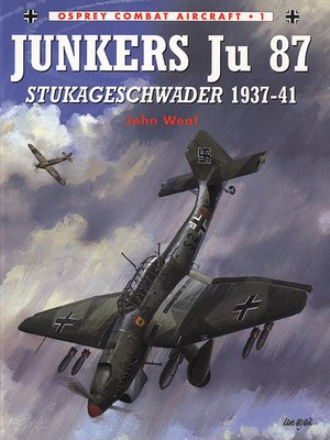 cover image of Junkers Ju 87 Stukageschwader 1937-41