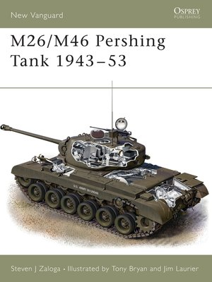 cover image of M26/M46 Pershing Tank 1943-53