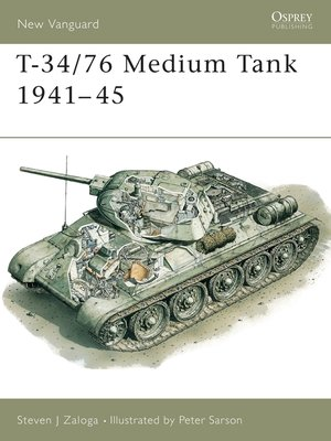 cover image of T-34/76 Medium Tank 1941-45